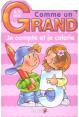 Piccolia : Comme un grand Je compte et je colorie : Livre pour enfant : Unité