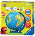 Ravensburger : Puzzle ball junior XXL mappemonde 180 pièces : Puzzle : Unité