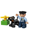 Lego : Le policier- 5678- Duplo : Jouets enfants : Unité