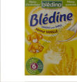 Blédine : saveur vanille : Vanilla-flavoured cereals : 500g