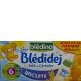 Blédidej : lait et céréales : Biscuitée : 4 x 250ml
