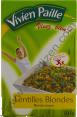 Vivien Paille : lentilles blondes : Légumes secs : 500g