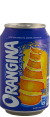 Orangina : à la pulpe d'orange : Soda à l'orange : 6x33cl