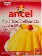 Ancel : flan a la vanille : flan entremets : 180g