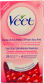 Veet : bandes cire froide : wax : Normal skin