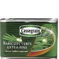 Cassegrain : hariccots extra fins : Haricots verts : 800g