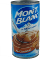 Mont Blanc : la creme dessert caramel : Caramel cream : 570g