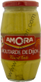 Amora : moutarde de Dijon : Fine et forte : 440g