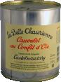 La Belle Chaurienne : cassoulet au confit d'oie : Cassoulet gourmand : 840g