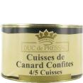 Duc de Pressac : confit de canard : Duck confit : 4 legs