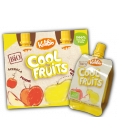Kalibio : Cool Fruits : Apple & pear compote : x 4