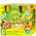 Kalibio : Cool Fruits : Compote bio pomme banane : 4 gourdes