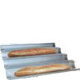 Moule : à baguette : 4 baguettes : acier