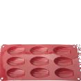 Moule : à madeleines : Moule : en silicone