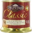 Delpeyrat : bloc de foie gras de canard : Avec 30% morceaux : 200g