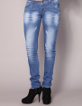 Multi-shop -Jean slim Ref : FA147-MANGUE