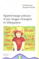 Crini Ed. : apprentissage précoce d'une langue étrangère et bilinguisme : Ouvrage collectif : 2005