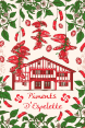 French craft : decorative tea towel : Piment d'Espelette : from France