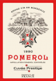 French craft : decorative tea towel : Pomerol Prestige : Bordeaux wine