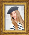 Laulhere : French beret : For women : Made in France