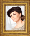 """Laulhere : French beret """"Best Angora"""" : For women : Made in France"""