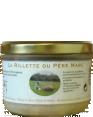 Rillettes de porc : pâté artisanal : Fabriqué en Normandie