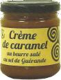 Les délices de Joséphine : crème de caramel au beurre salé : Fabrication artisanale : produit de Bretagne