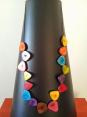 Miss Marl'n : sautoir : multi couleurs : création artisanale
