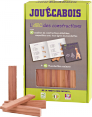 Jouecabois : Wooden construction : Artisanal game : made in France