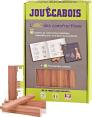 Jouécabois : ABC des constructions : Jeu en bois : artisanal
