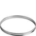 Cercle : à tarte : Inox : 22 cm