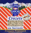 Alpina : crozets : Sarrasin : 400g