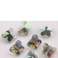 Bead : faceted : Butterfly : 6mm