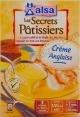 Alsa Les Secrets Pâtissiers : crème anglaise : A la Vanille des isles : 300g