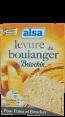 Alsa : levure du boulanger briochin : Pour pains et brioches : 5 sachets