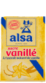 Alsa : sucre vanillé : A l'extrait naturel de vanille : 5 sachets