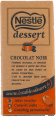 Nestle Dessert : chocolat noir : Baking chocolate : 200g