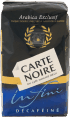Carte Noire : Infini decafeine : Decaffeinated  ground coffee : 250g