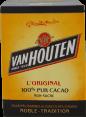 Van Houten L'original : 100% pur cacao : Non sucré : 250g