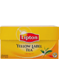 Lipton : Yellow : tea : 25 bags
