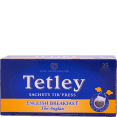Tetley : English breakfast : thé : 25 sachets