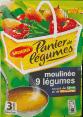 Maggi : panier de legumes : soup moulinee 9 legumes : 3 servings