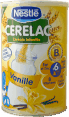 Nestle Cerelac : cereale infantile vanille : Vanilla baby cereals : 400g