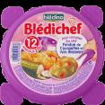 Bledina Bledichef : fondue de courgettes et petits macaronis : Courgettes macaroni : 230g
