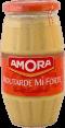 Amora : moutarde mi-forte : Goût équilibré : 415g