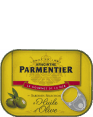 Parmentier : sardines a l'huile d'olive : Olive oil sardines : 135g
