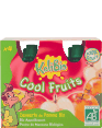 Kalibio : Cool fruits : Apple compote : pack of 4