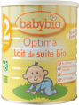 Babybio : Lait biologique 2eme age : powdered milk from 6 months : 900g