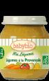 Babybio mes légumes : légumes à la Provençale : Alimentation bébé bio : dès 4 mois