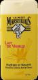 Le Petit Marseillais : gel douche : Au lait de vanille : 250ml